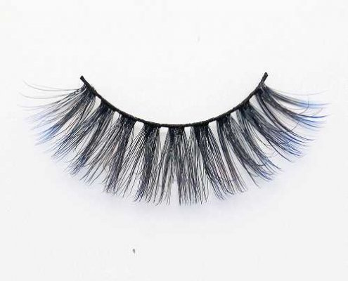 Colored eyelash C914B