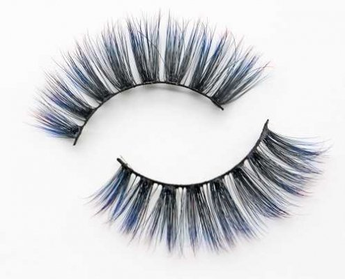wholesale colored lashes C903B