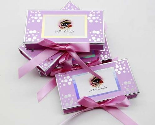 custom eyelash packagings