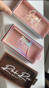 Custom Packaging for eyelash drawer box vendors