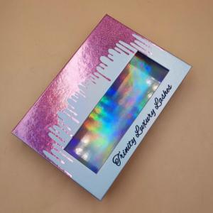 Custom eyelash packaging book wholesale lash books