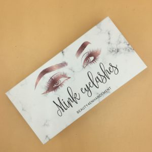 Packaging lashes marble box private label eyelashes
