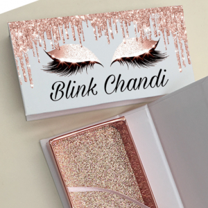 Wholesale custom eyelash packaging box Custom Mink Eyelash Packaging Box